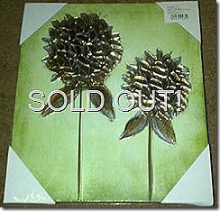 24129930 Hand Painted Metalic Aluminium Canvas-Green IMG-20120427-00807